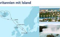 Mein Schiff 4 Großbritannien mit Island