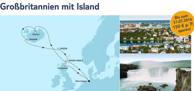 Mein Schiff 4 Großbritannien mit Island / © TUI Cruises