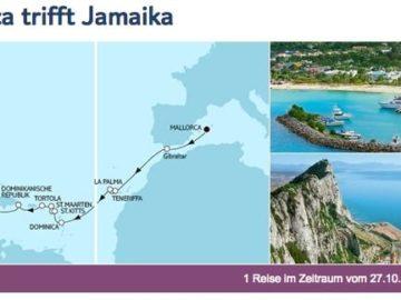 Mein Schiff 4 Mallorca trifft Jamaika / © TUI Cruises
