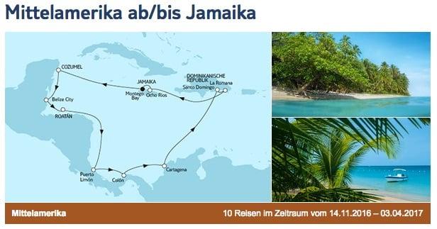 Mein Schiff 4 Mittelamerika ab/bis Jamaika / © TUI Cruises