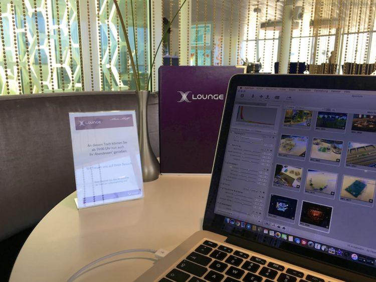 Arbeiten in der X-Lounge