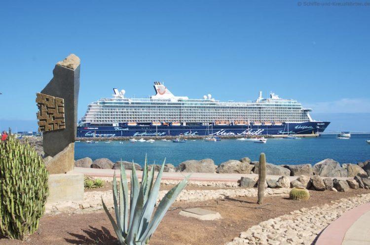 Mein Schiff 4 in Puerto del Rosario