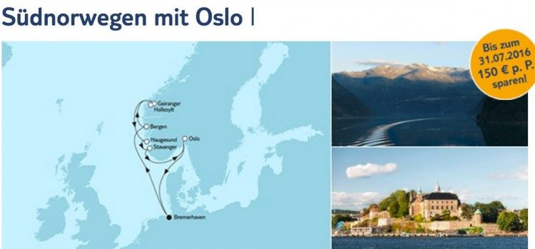 Mein Schiff 4 Südnorwegen mit Oslo 1 / © TUI Cruises