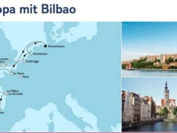 Mein Schiff 4 Westeuropa mit Bilbao / © TUI Cruises