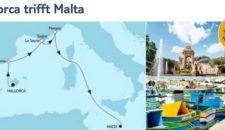 Mein Schiff 5 Mallorca trifft Malta