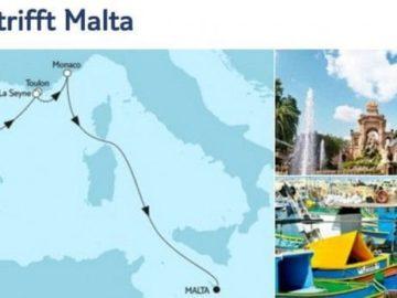 Mein Schiff 5 Mallorca trifft Malta / © TUI Cruises