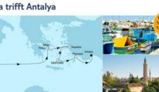 Mein Schiff 5 Malta trifft Antalya