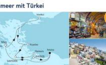 Mein Schiff 5 Mittelmeer mit Türkei