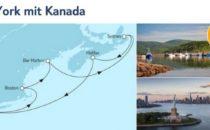 Mein Schiff 6 New York mit Kanada