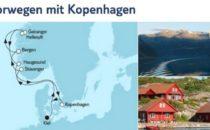 Mein Schiff 6 Südnorwegen mit Kopenhagen