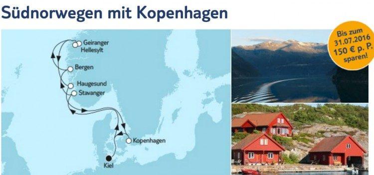 Mein Schiff 6 Südnorwegen / © TUI Cruises