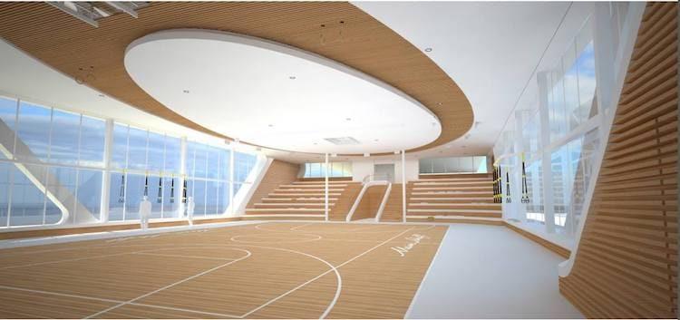 Neue Mein Schiff 1 Arena © TUI Cruises
