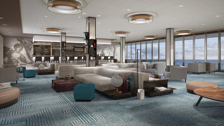 Neue Mein Schiff 1 Himmel & Meer Lounge © TUI Cruises