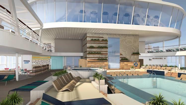 Neue Mein Schiff 1 Lagune © TUI Cruises