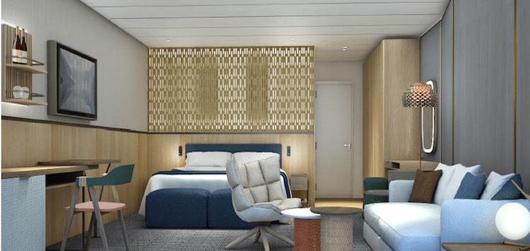 Neue Mein Schiff 1 Schöne Aussicht Suite © TUI Cruises
