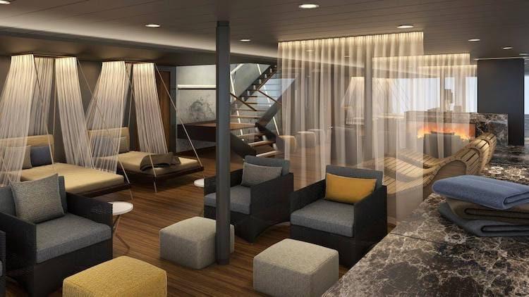 Neue Mein Schiff 1 SPA & Meer Ruheraum © TUI Cruises