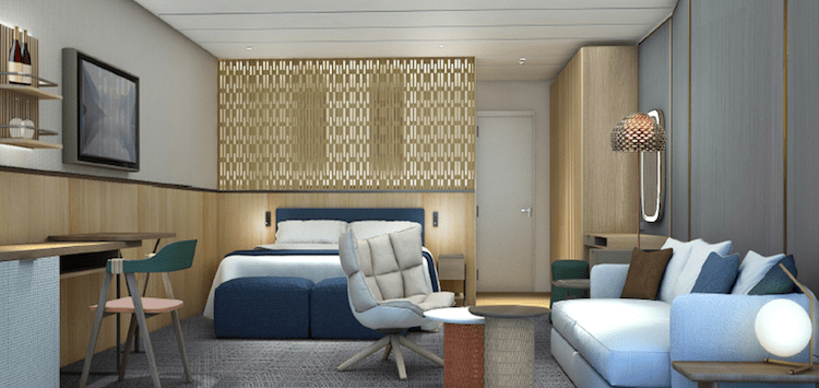Neue Mein Schiff 1 Übersee Suite © TUI Cruises