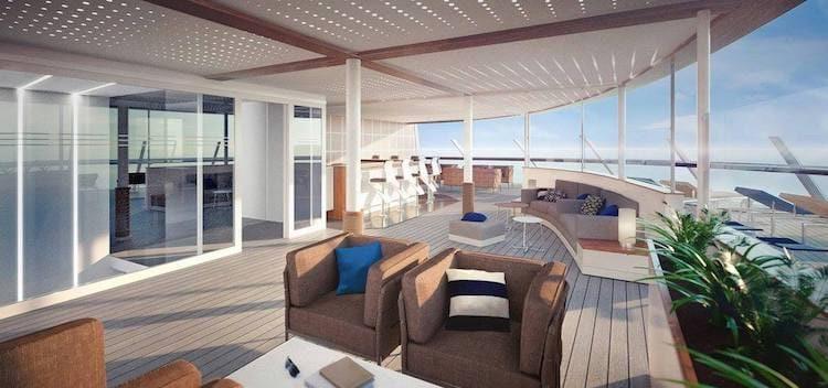 Neue Mein Schiff 1 X-Sonnendeck © TUI Cruises