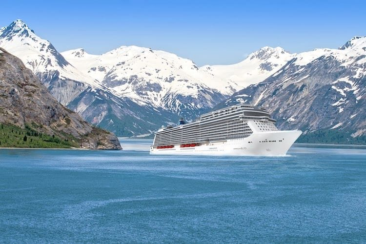 Norwegian Bliss - das neue Alaska-Kreuzfahrtschiff / © Norwegian Cruise Line