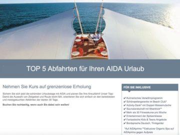 AIDA Top 5 Kreuzfahrten © AIDA Cruises