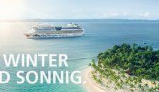 AIDA Winterkreuzfahrten: Sonnengarantie ab 699,00 Euro