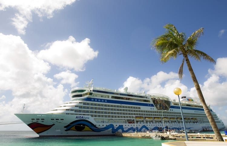 AIDAluna Karibik ©AIDA Cruises
