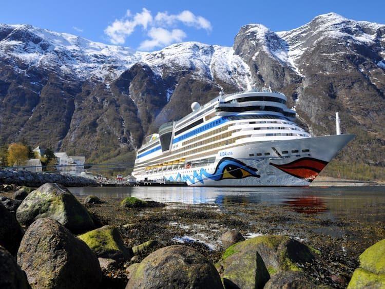 AIDAluna in Norwegen / © AIDA Cruises