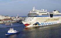 Schlechter Treibstoff: AIDAstella umgeroutet nach Dubai