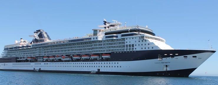 Celebrity Infinity © Celebrity Cruises