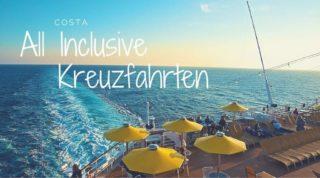 Costa All Inclusive Kreuzfahrten ©Costa Kreuzfahrten