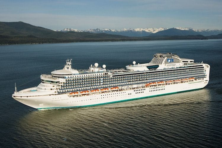 Diamond Princess © Princess Cruises