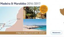 Mein Schiff 2 Kanaren mit Madeira & Marokko