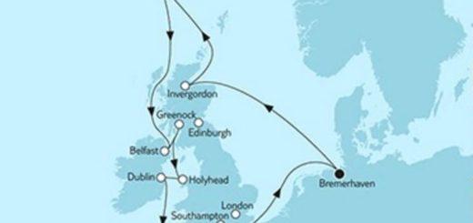 Mein Schiff 3 Großbritannien mit Irland 2 © TUI Cruises