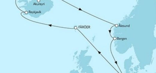 Mein Schiff 3 Norwegen & Island © TUI Cruises