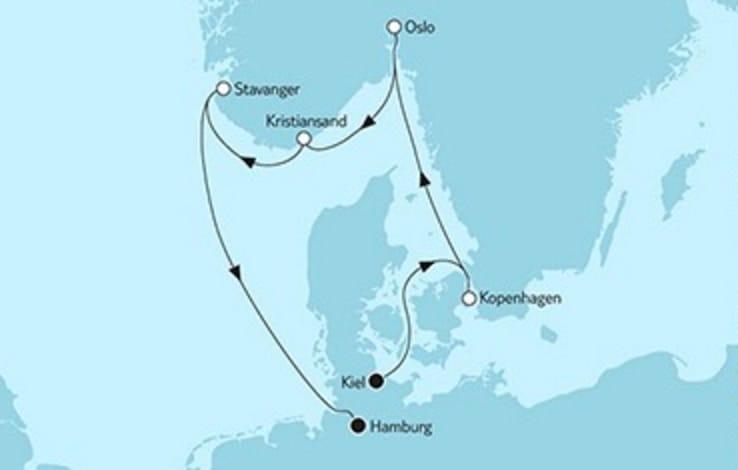 Mein Schiff 4 Kurzreise Kopenhagen & Stavanger © TUI Cruises