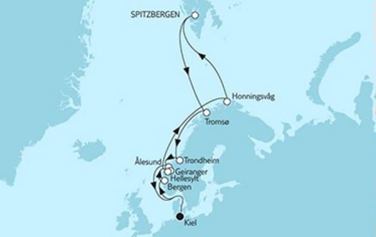 Mein Schiff 4 Norwegen Spitzbergen 1 © TUI Cruises