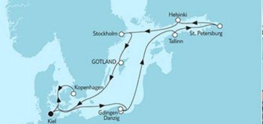 Mein Schiff 4 Ostsee Baltikum mit Kopenhagen © TUI Cruises