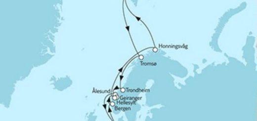 Mein Schiff 5 Norwegen Spitzbergen 2 © TUI Cruises