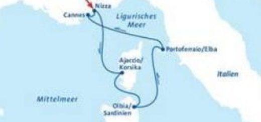MS Berlin Mittelmeer Kreuzfahrt ©FTI Cruises