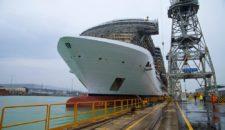 MSC Seaside kehrt zurück von Sea-Trial