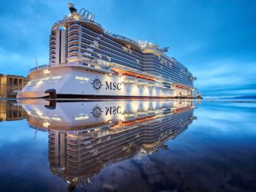 MSC Seaside Taufe in Miami | Foto © Mike Louagie