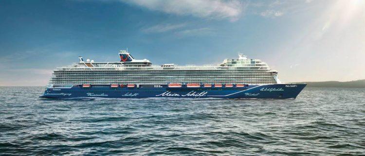 Neue Mein Schiff 2 - der Neubau 2019 für TUI Cruises / © TUI Cruises