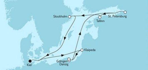 Neue Mein Schiff 1 Ostsee Baltikum mit Danzig 2 © TUI Cruises