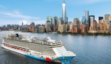 Norwegian Breakaway kreuzt im Winter ab New Orleans in die Karibik