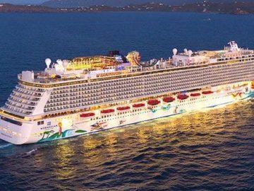 Norwegian Getaway kreuzt ab Warnemünde in 2017 / © Norwegian Cruise Line