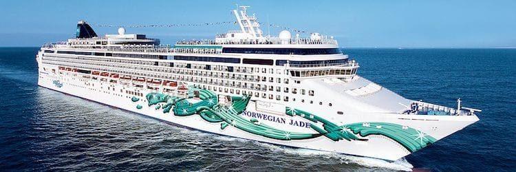 Norwegian Jade ©Norwegian Cruises Line