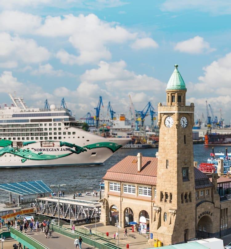 Norwegian Jade ab Hamburg ©Norwegian Cruise Line