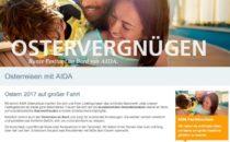 AIDA Osterkreuzfahrten 2017
