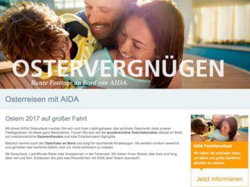 AIDA Osterkreuzfahrten - Ostern auf den Kussmundschiffen / © AIDA Cruisesa