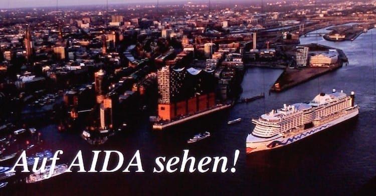 Abschied nach 7 Tagen von AIDAprima: Auf AIDA sehen!